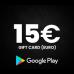 Google Play Gift Code 15 (USD)