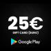 Google Play Gift Code 25 (USD)