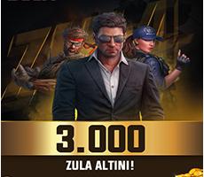 3000 Zula Altını