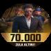 70.000 + 7000 BONUS Zula Altını Epin