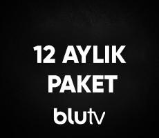 BluTV 12 Aylık Üyelik