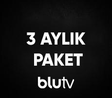BluTV 3 Aylık Üyelik