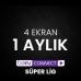 Digiturk Bein Connect Süper Lig 1 Aylık ( 4 Ekran )