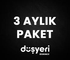 Düşyeri TV 3 Aylık Paket