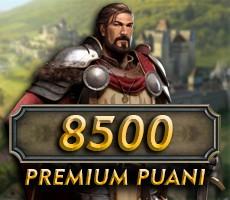 Klan Savaşları 8500 Premium Puanı