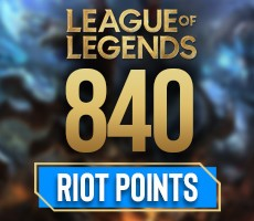 League Of Legends 840 Riot Points