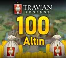 100 Travian Altin B PAKET