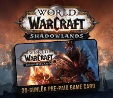 World Of Warcroft 30 Günlük Pre Paid Game Card (EU)
