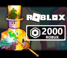 ROBLOX 25 USD ( 2000 Robux Kredi )