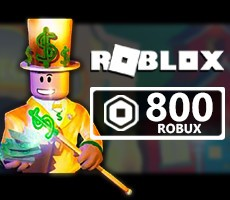 ROBLOX 10 USD ( 800 Robux Kredi )