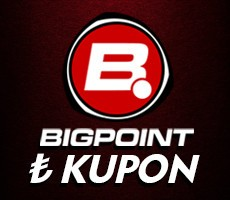 Bigpoint 149.90 TL lik Kupon