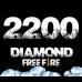 Free Fire 2200 + 220 Diamond