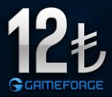 Gameforge 12 TL EPin ( Bütün Gameforge oyunlarında Geçerlidir )