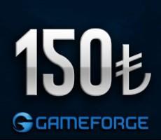 Gameforge 150 TL EPin ( Bütün Gameforge oyunlarında Geçerlidir )