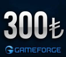 Gameforge 300 TL EPin ( Bütün Gameforge oyunlarında Geçerlidir )