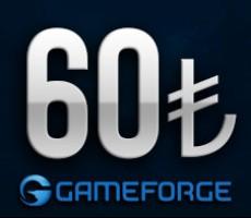 Gameforge 60 TL EPin ( Bütün Gameforge oyunlarında Geçerlidir )