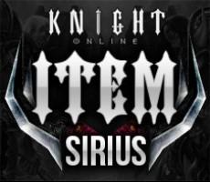 Knight Online Sirius İtem