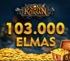 Son Korsan 103.000 Elmas