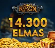 Son Korsan 14300 Elmas