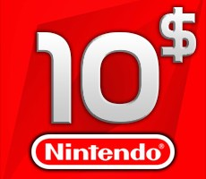 Nintendo eShop 10 USD Balance