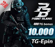 Point Blank 10.000 TG (400 TG BONUS ) Epin