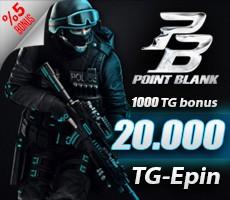 Point Blank 20.000 TG (1.000 TG BONUS) Epin
