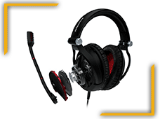 Game Zero Oyuncu Kulaküstü Kulaklık Siyah