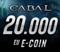 Cabal Online 20000 eCoin Epin