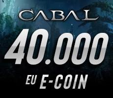 Cabal Online 40000 eCoin Epin