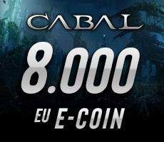 Cabal Online 8000 eCoin Epin
