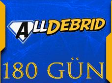 Alldebrid Premium 180 Gün