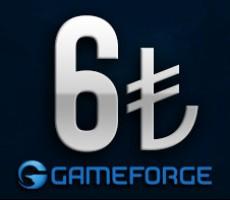 Gameforge 6 TL EPin ( Bütün Gameforge oyunlarında Geçerlidir )