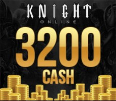 Knight Online 3200 Cash Esn Epin