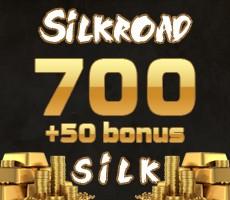 SilkRoad 700 Silk + 50 Silk bonus