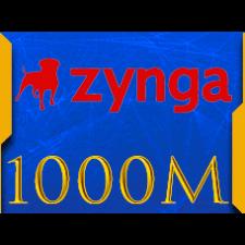 Facebook Zynga Chip Texas Holdem Poker  1000 M