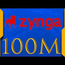 Facebook Zynga Chip Texas Holdem Poker 100 M