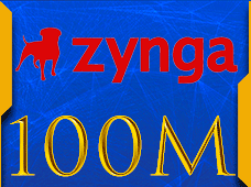 Facebook Zynga Chip Texas Holdem Poker 100 M