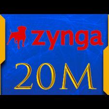 Facebook Zynga Chip Texas Holdem Poker  20 M