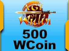 Age Of Wulin 500 Wcoin