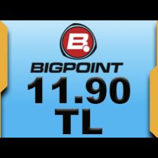Bigpoint 11.90 TL lik Kupon