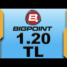 Bigpoint 1.20 TL lik Kupon