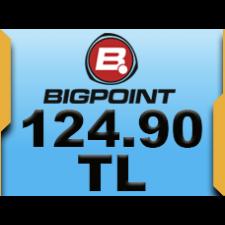 Bigpoint 124.90 TL lik Kupon