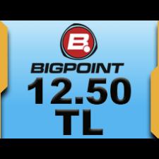 Bigpoint 12.50 TL lik Kupon
