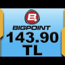 Bigpoint 143.90 TL lik Kupon