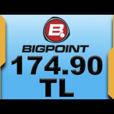 Bigpoint 174.90 TL lik Kupon