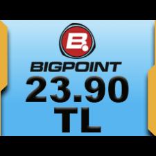Bigpoint 23.90 TL lik Kupon