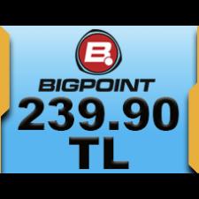 Bigpoint 239.90 TL lik Kupon