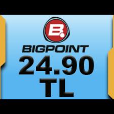 Bigpoint 24.90 TL lik Kupon