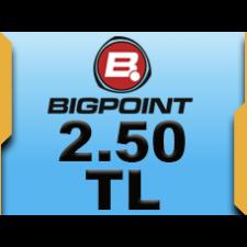 Bigpoint 2.50 TL lik Kupon