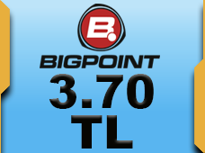 Bigpoint 3.70 TL lik Kupon
